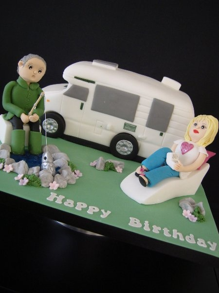 Perfect Southdowns  Motorhome News  Concorde Motorhome Shaped Birthday Cake