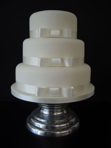Vanilla Wedding Cake from The Big Wedding Cake Company